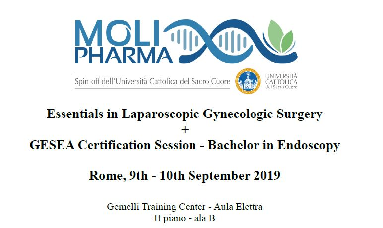 Congresso Essentials in Laparoscopic Gynecologic Surgery + GESEA Certification Session - Bachelor in Endoscopy
