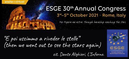 ESGE 2021_Roma